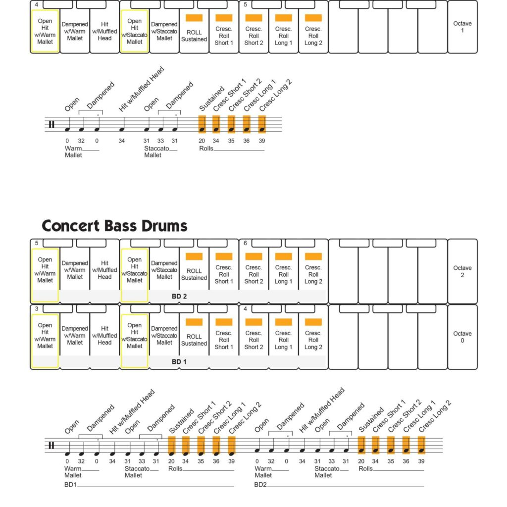 Virtual Drumline Sound Maps Page 42