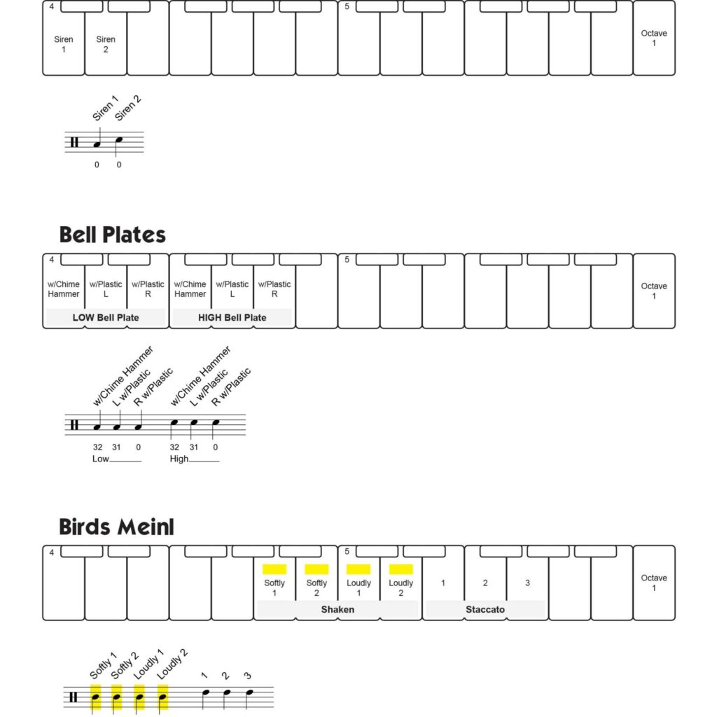 Virtual Drumline Sound Maps Page 85